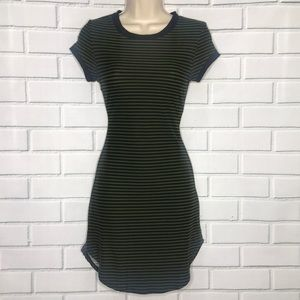 NWOT Small striped skater dress